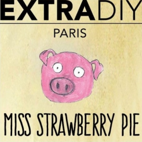 ArômeTarte à la fraise Extradiy 10ml