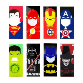 Wraps accu 18650 super heros